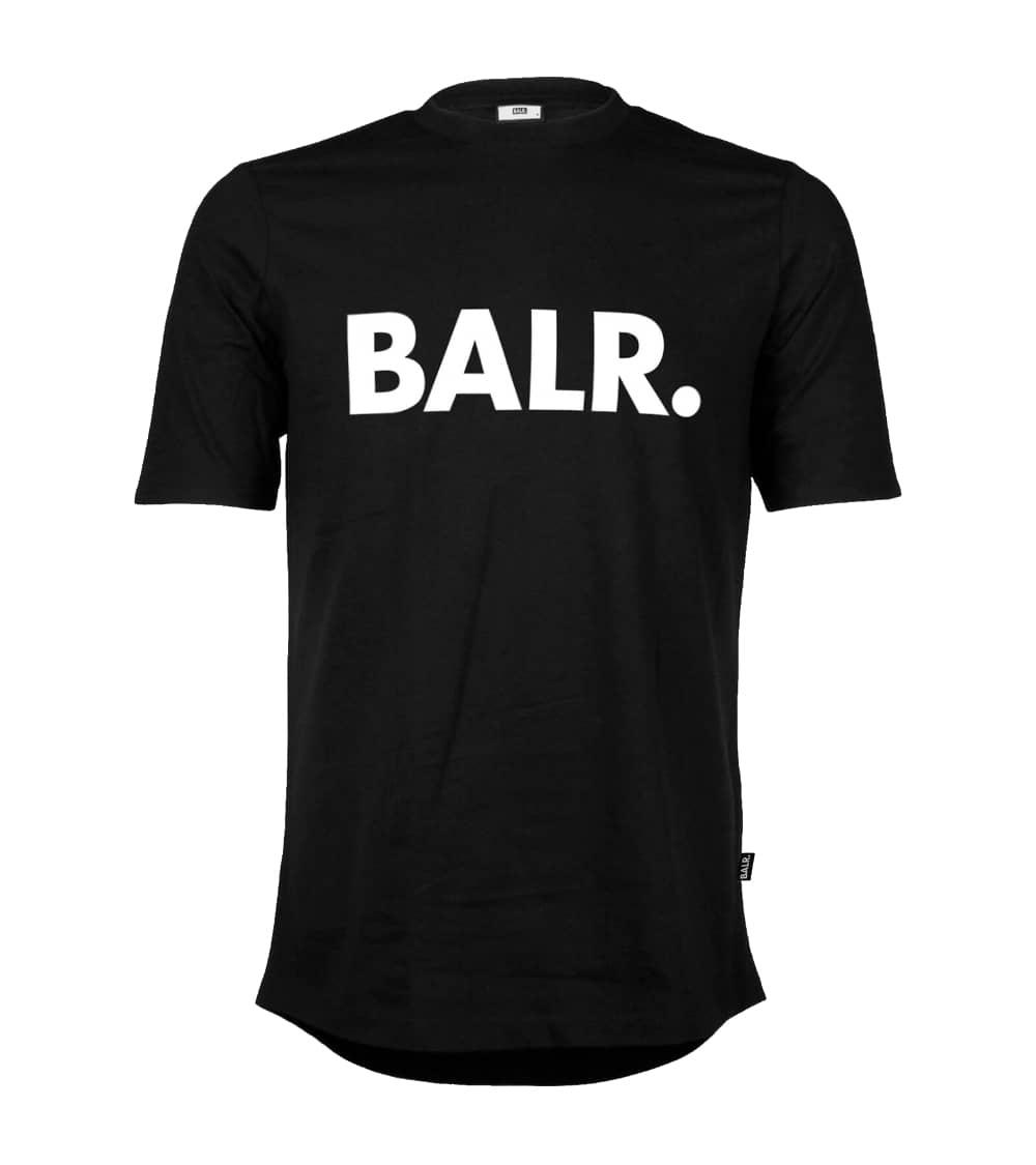 BALR Camiseta Básica Negra