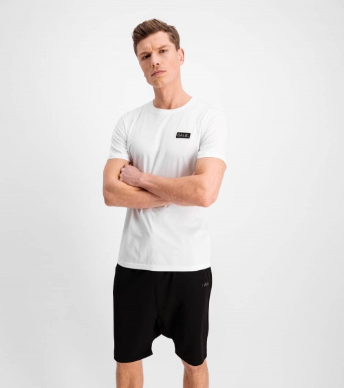 BALR Camiseta Blanca Minilogo Metal modelo