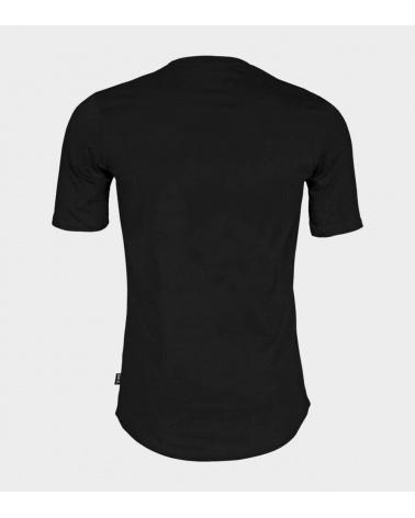 BALR Camiseta Negra Logo Dorado espalda
