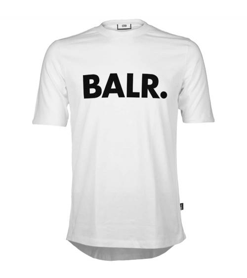 BALR Camiseta Básica Blanca