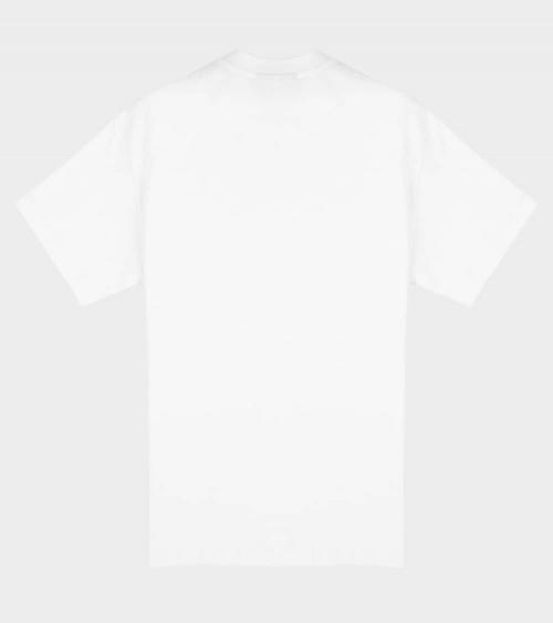 BALR Camiseta Blanca Minilogo Metal espalda