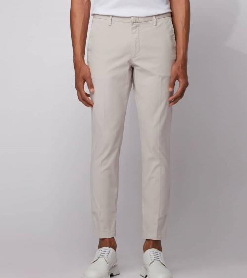 Hugo Boss Pantalón Chino Blanco modelo