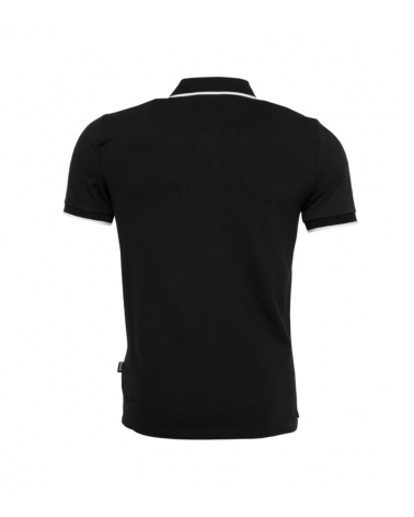 BALR Polo Shirt Black detrás