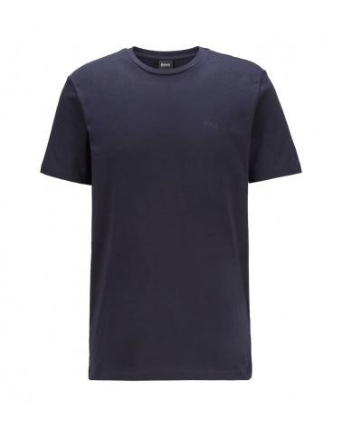 Hugo Boss Camiseta Básica Marino Hilo