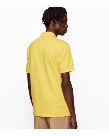 Hugo Boss Polo Piqué Amarillo espalda