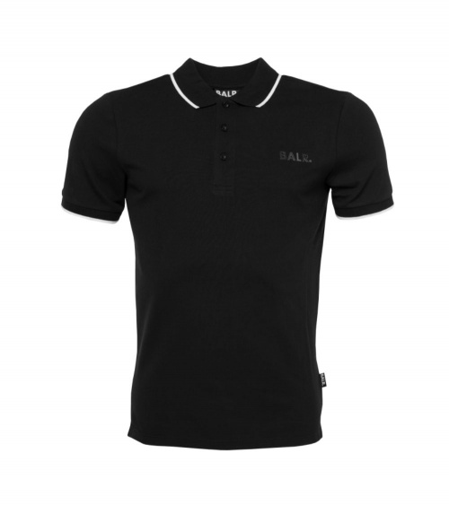 BALR Polo Shirt Black