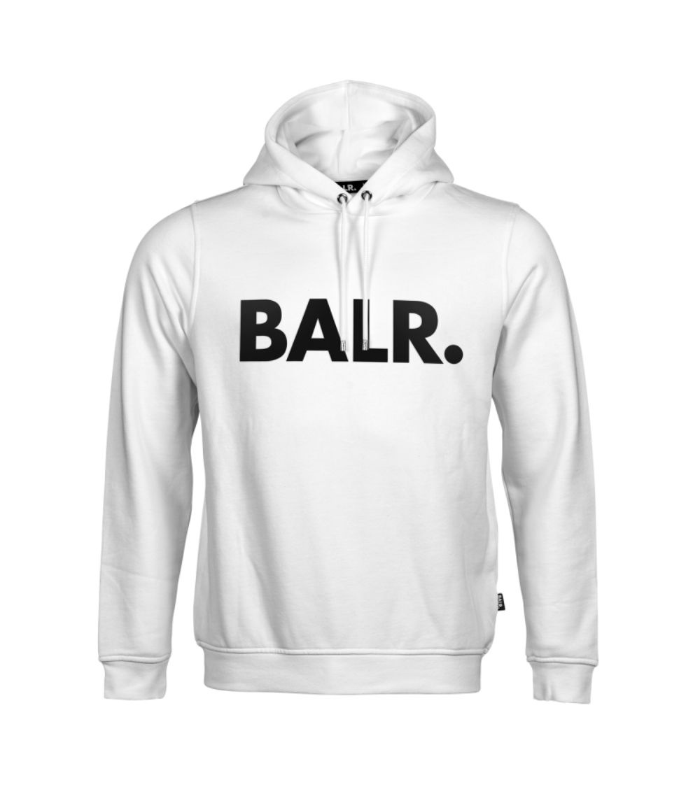 BALR Sudadera Logo Frontal Blanca