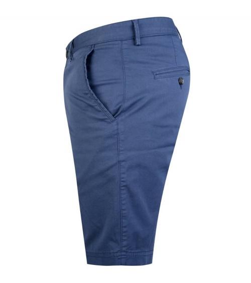 Hugo Boss Bermuda Azul Medio lateral