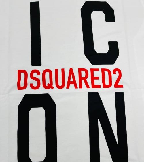 Dsquared2 Camiseta Big Icon Blanca logo