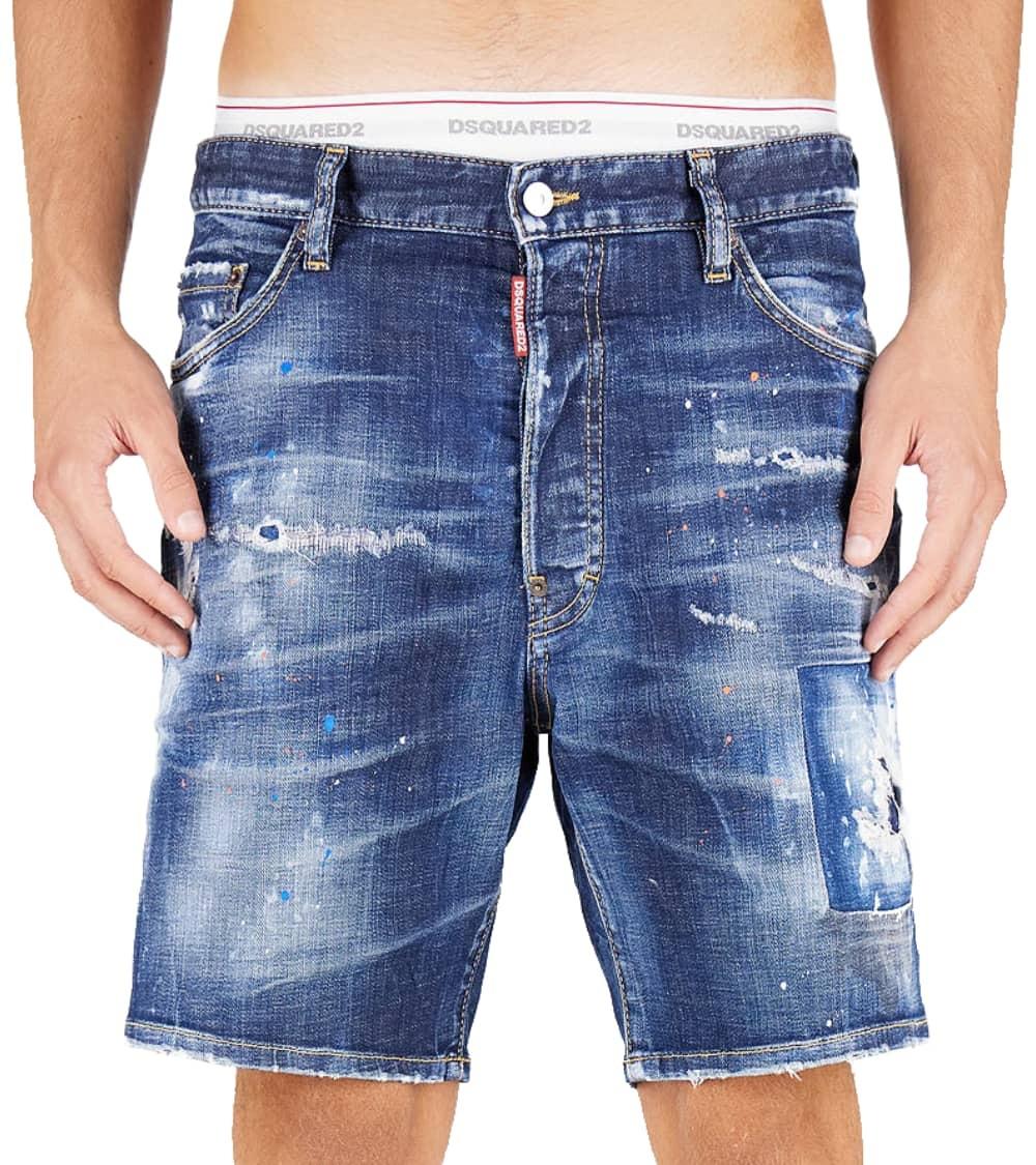 Dsquared2 Bermuda Jeans Etiqueta Love