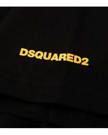 Dsquared2 Camiseta Interior Negra logo