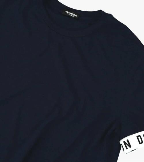 Dsquared2 Camiseta Interior Marino detalle