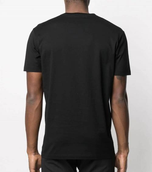 Dsquared2 Camiseta Big Icon Negra espalda
