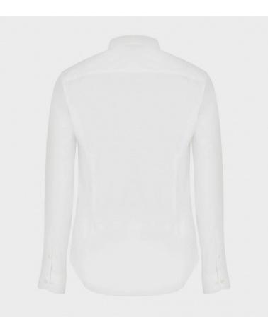 Emporio Armani Camisa Elástica Blanca espalda