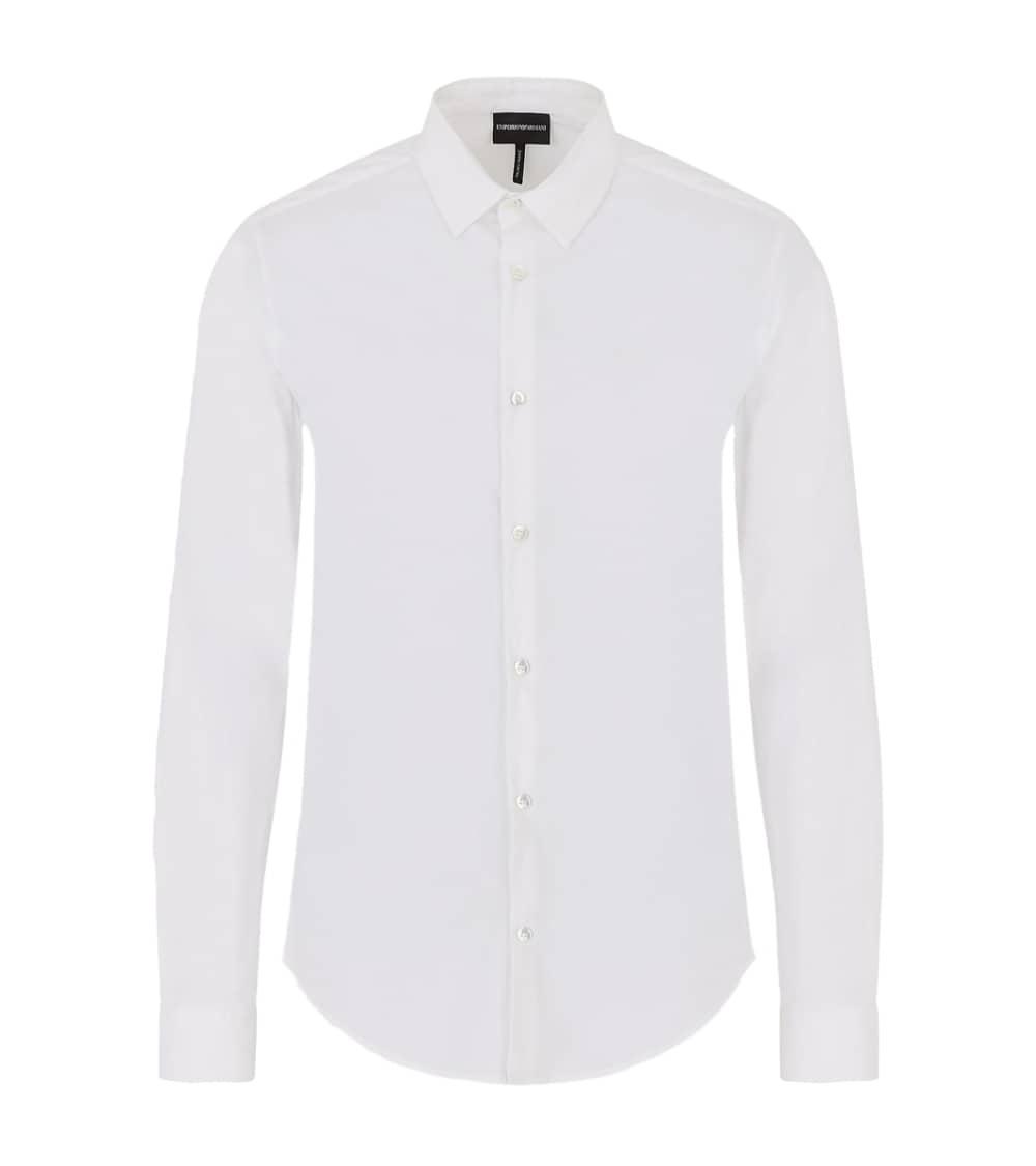 Emporio Armani Camisa Elástica Blanca