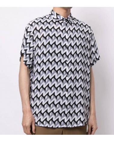 Emporio Armani Camisa Retro Geometric modelo