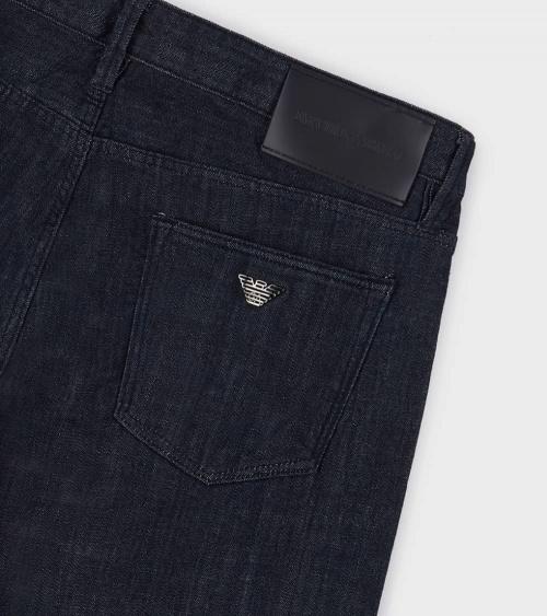 Emporio Armani Jeans J75 Liso Oscuro logo