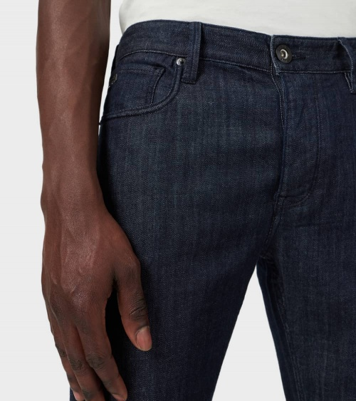 Emporio Armani Jeans J75 Liso Oscuro detalle