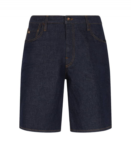 Emporio Armani Bermuda Jeans Oscura