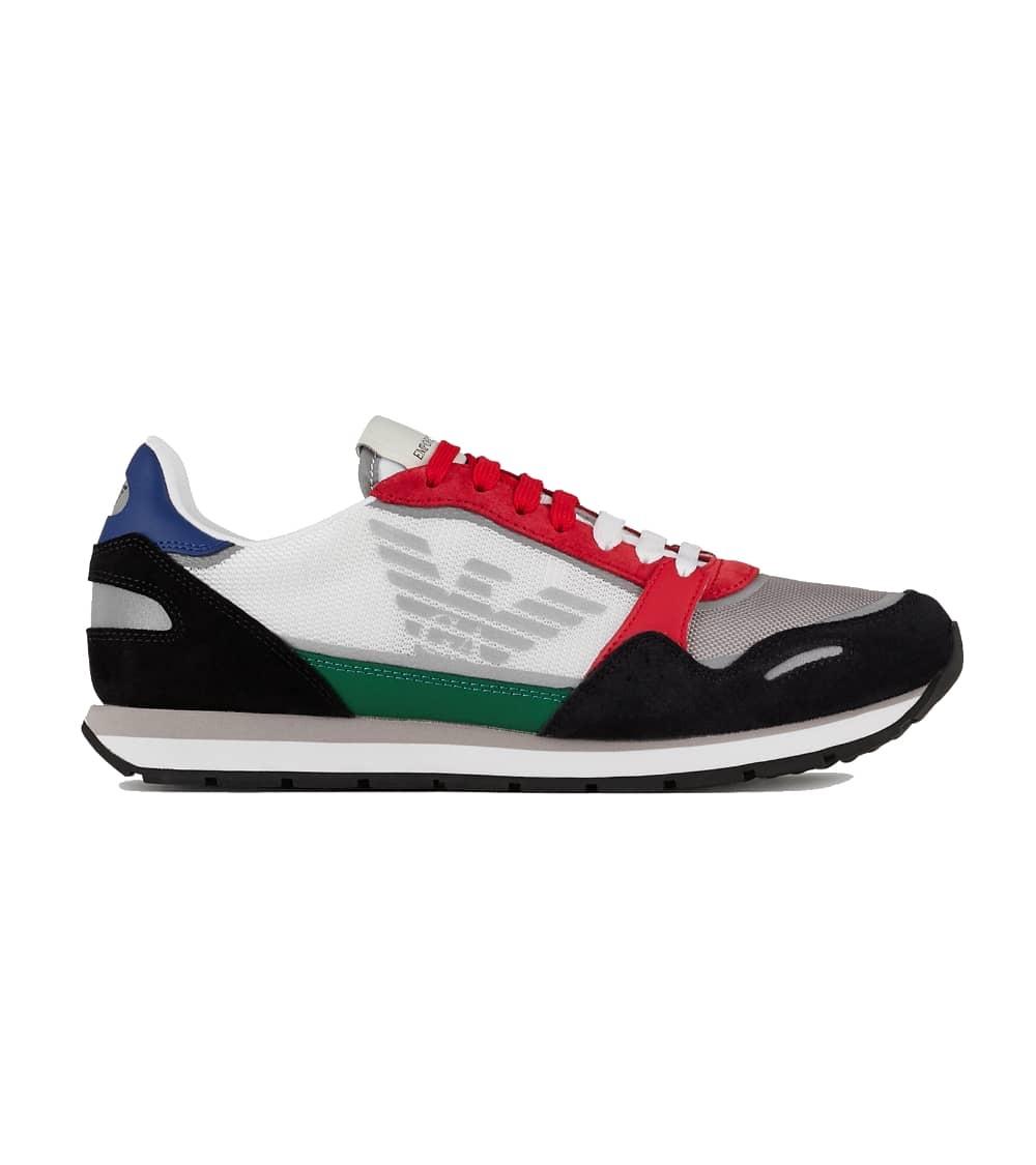 Emporio Armani Zapatillas Águila Multicolor