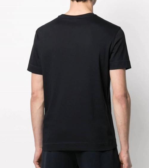 Emporio Armani Camiseta Marino Logo Pecho espalda