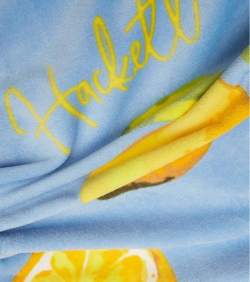 Hackett London toalla limones detalle