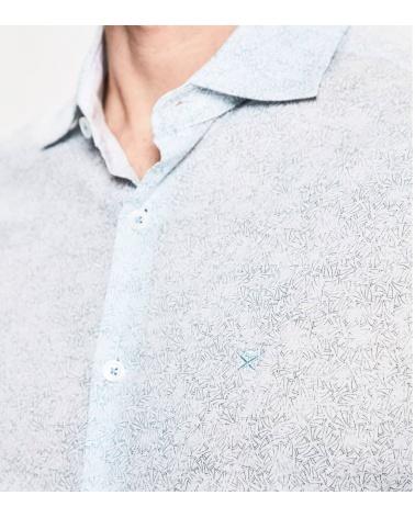 Hackett London Camisa Veleros detalle