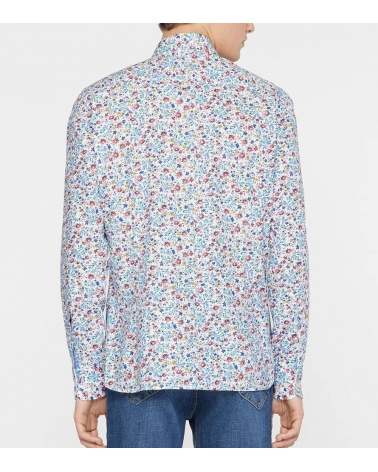 Hackett London Camisa Floral Multicolor espalda