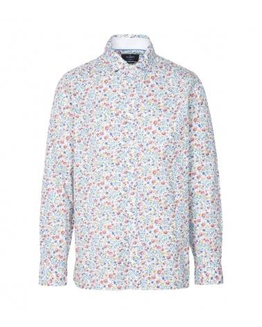 Hackett London Camisa Floral Multicolor