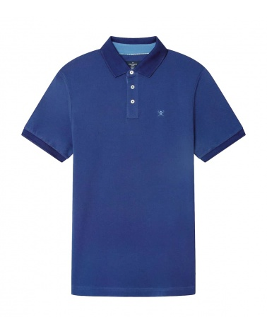 Hackett London Polo Básico Palms Azul