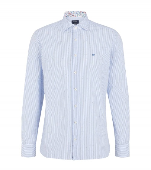 Hackett London Camisa Rayas Botonato