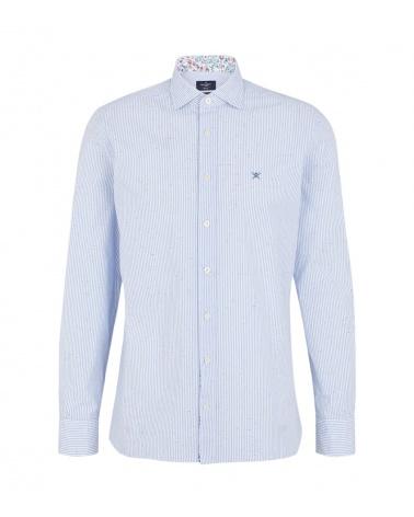 Hackett London Camisa Rayas Botonato