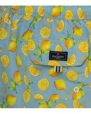 Hackett London Bañador Limones detalle