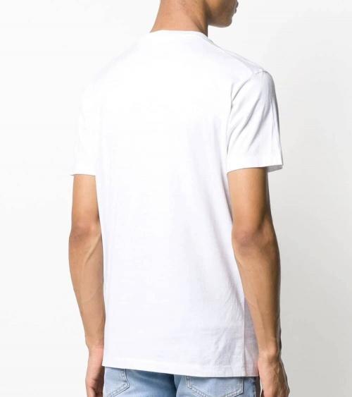 Dsquared2 Camiseta Blanca Minilogo Icon espalda