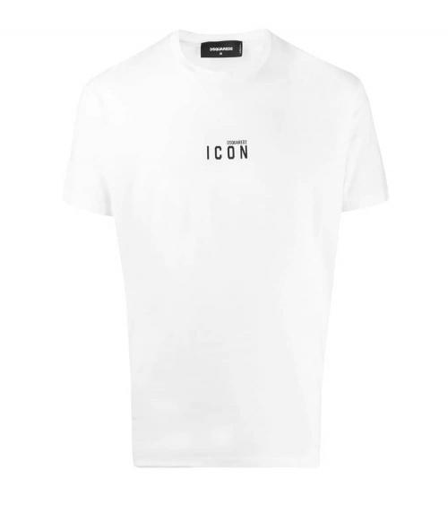 Dsquared2 Camiseta Blanca Minilogo Icon
