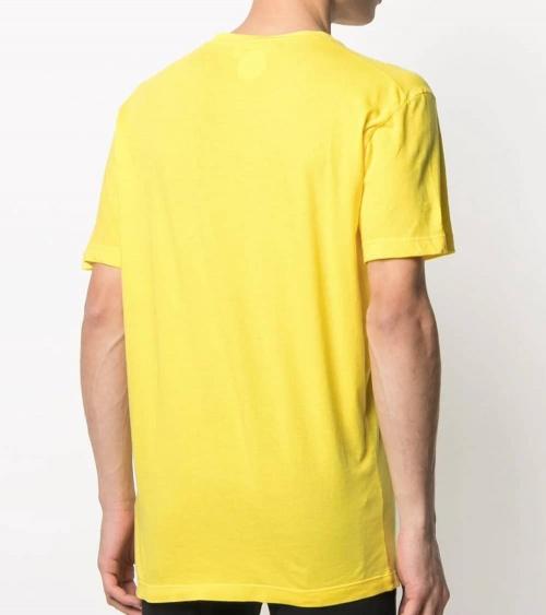 Camiseta Amarilla Logo Degradé espalda