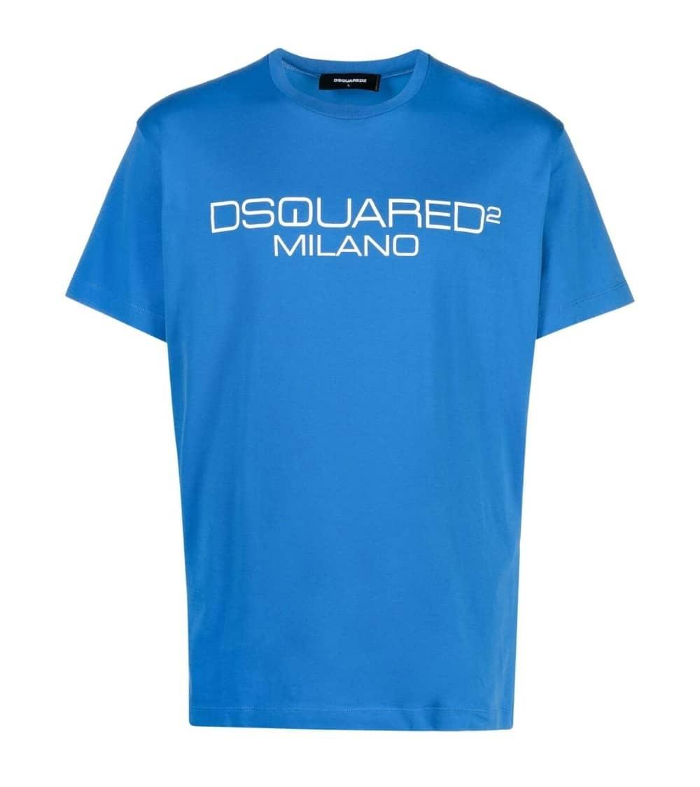 Dsquared2 Camiseta Azulón Milano