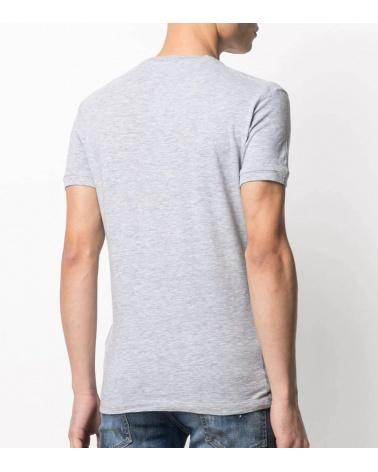 Dsquared2 Camiseta Gris Brothers espalda