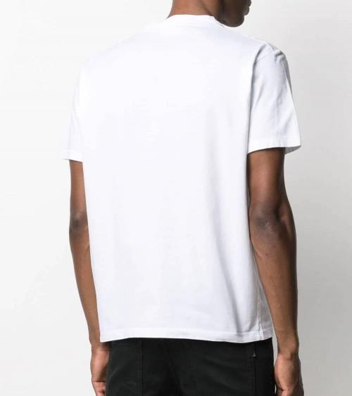 Dsquared2 Camiseta Blanca Logo Letrero modelo espalda