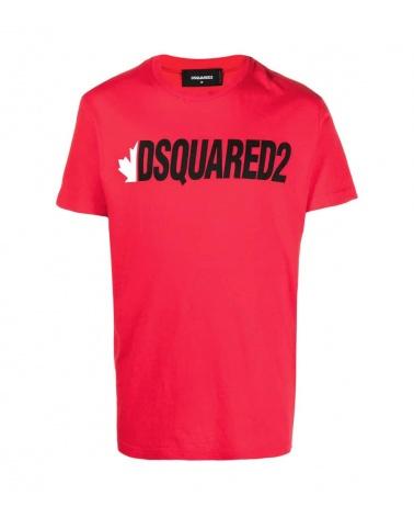 Dsquared2 Camiseta Roja Canadiense