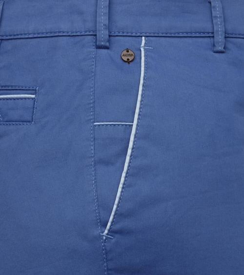Meyer Pantalón New York Azulón detalle