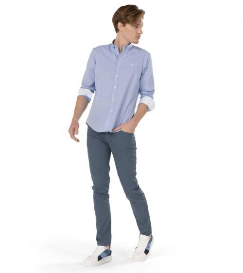 Harmont & Blaine Camisa Mini Vichy Sky look