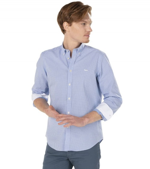 Harmont & Blaine Camisa Mini Vichy Sky