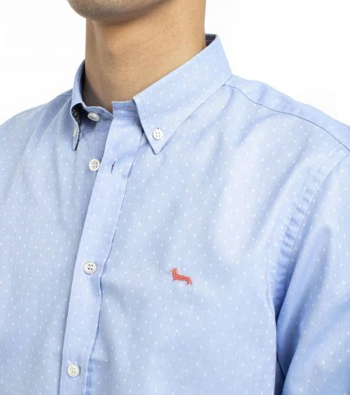 Harmont & Blaine Camisa Sky Sample Oxford detalle
