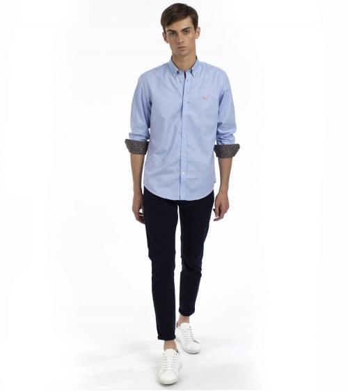 Harmont & Blaine Camisa Sky Sample Oxford look