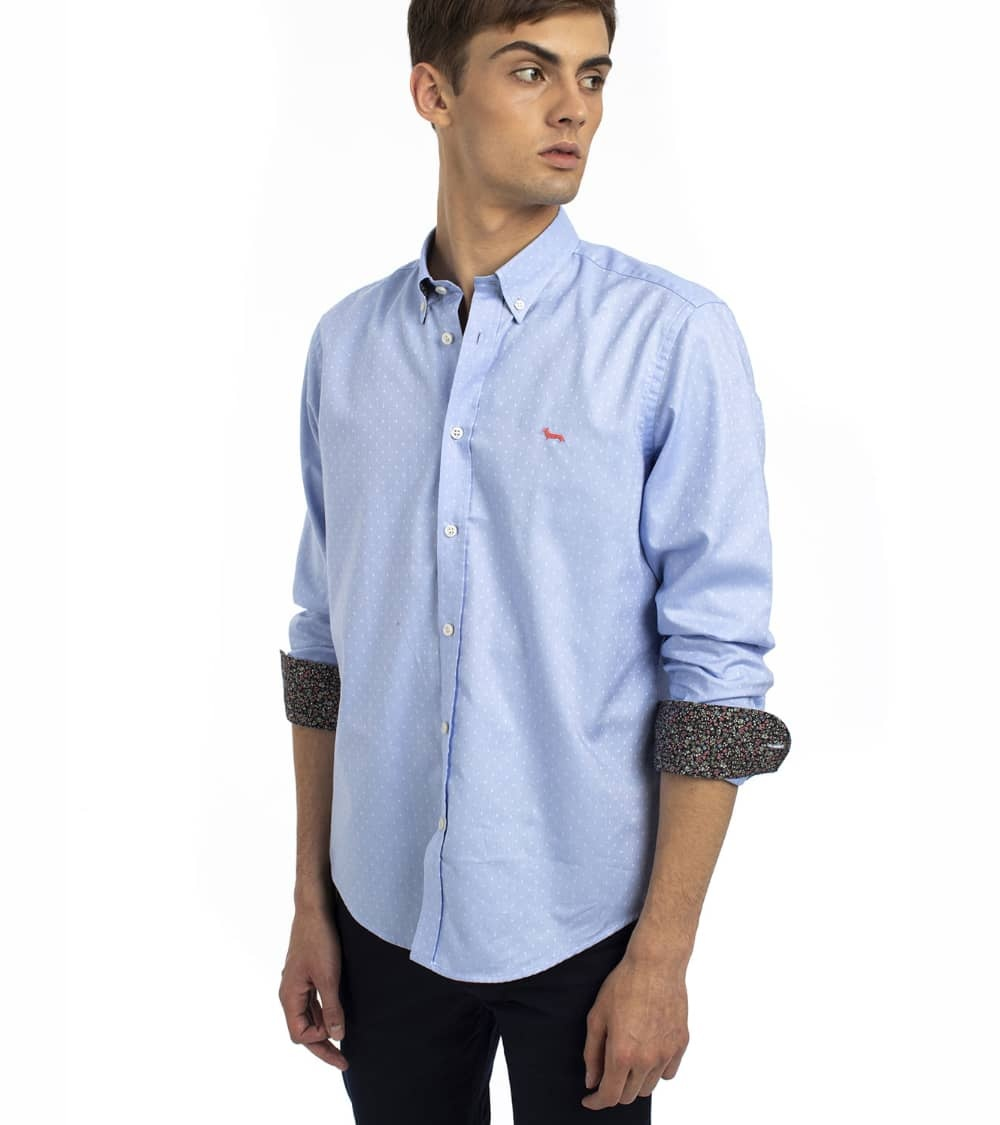 Harmont & Blaine Camisa Sky Sample Oxford