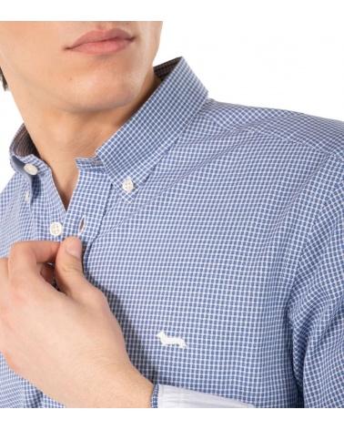 Harmont & Blaine Camisa Squares Contrast detalle