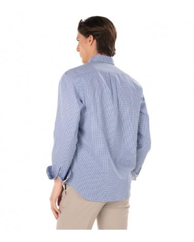 Harmont & Blaine Camisa Squares Contrast espalda