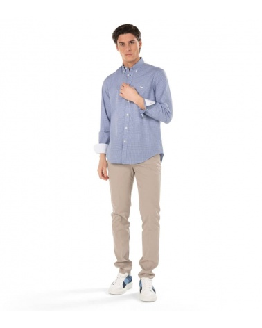 Harmont & Blaine Camisa Squares Contrast look