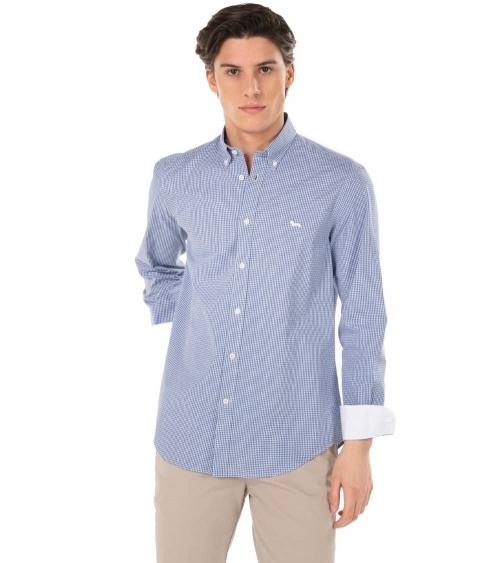 Harmont & Blaine Camisa Squares Contrast